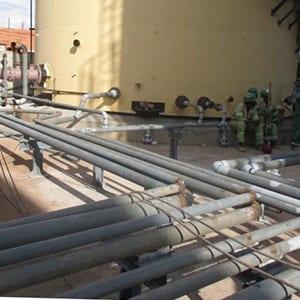 Construction d'une centrale thermique de 40Mw